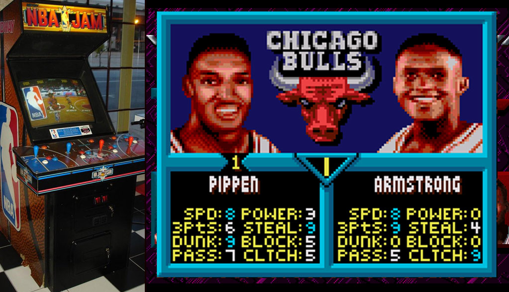 NBA Jam was rigged against Pippen & Bulls and also haunted by Drazen Petrovic?!
