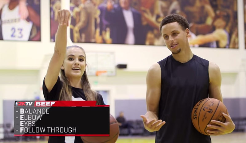 B.E.E.F: The 4 Steps To The Art of Shooting with Steph Curry ...