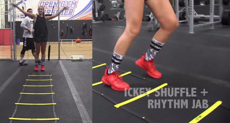 5 Ladder Drills To Help Improve Your Footwork w/ Rachel DeMita
