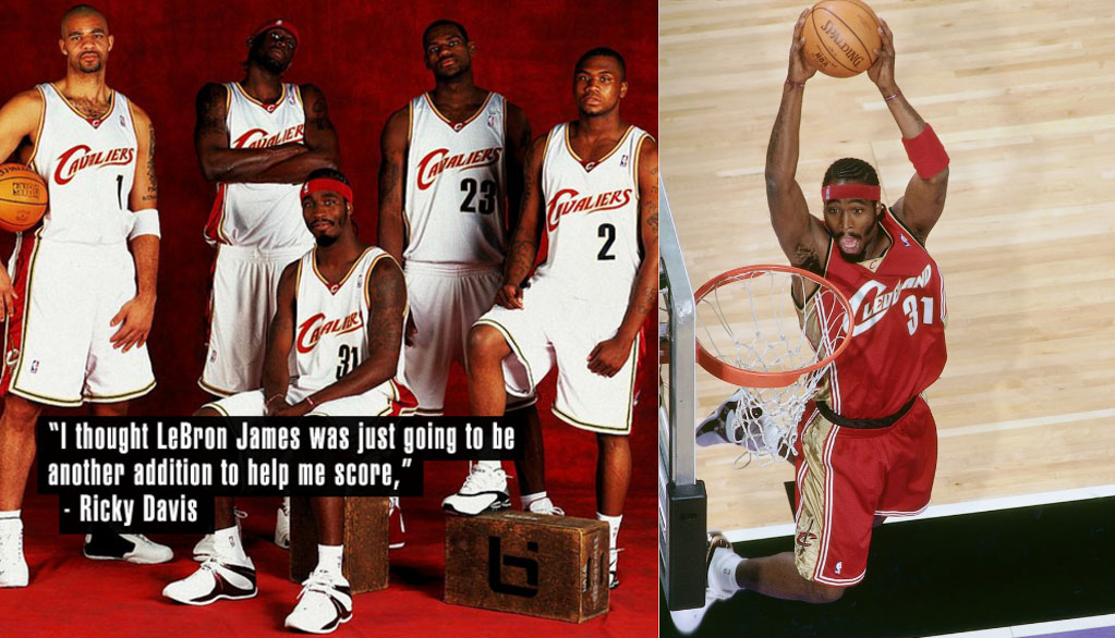 The Best & Worst of Ricky Davis aka Get Buckets