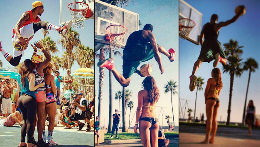 """Hottest"" Dunk Pics Ever: Chris Staples Is Still Dunking Over Sexy Women"