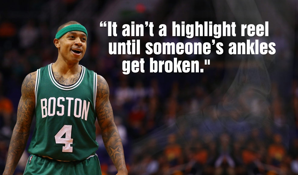 Isaiah Thomas Breaks Down The 6 Most Elite Ball Handlers in the