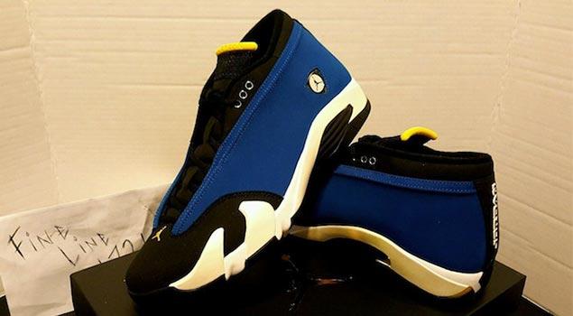 """Air Jordan XIV """"Laney"""" First Jordan Drop of October"""