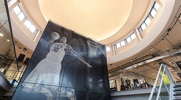 Nike The Grove Celebrates Los Angeles