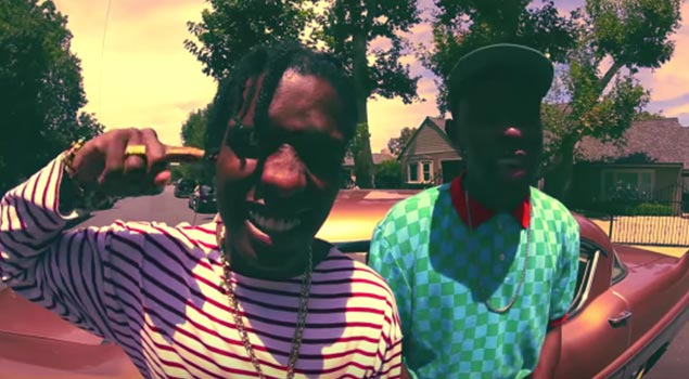 A$AP Rocky & Tyler the Creator Promote Tour in New Vid