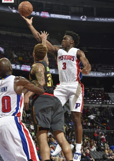 Atlanta Hawks vs. Detroit Pistons   Photos   October 23  2015   ESPN