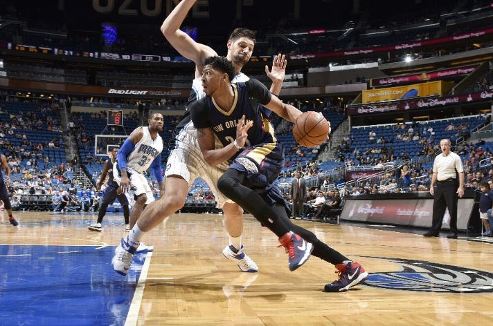 Anthony Davis 33pts, 16rebs & 5blks vs the Magic, Fantasy Beast!