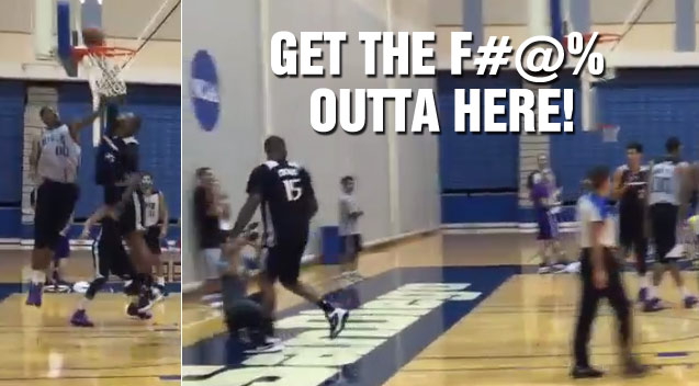 DeMarcus Cousins Walks Off Court, Screams GTFOH to Ref After Bad Call