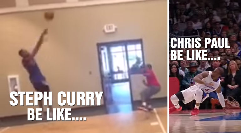 Master NBA Impersonator Finally Does A Steph Curry Video & Chris Paul Isn't Going To Like It