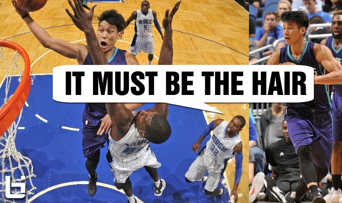 Jeremy Lin Scores Team-High 17 Points with 7 Assists in Hornets Debut – It Must Be The Hair!