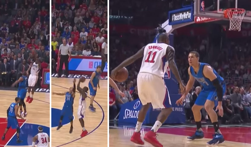 Jamal Crawford Reminded A Few Mavs That He Can't Be Guarded One-on-One
