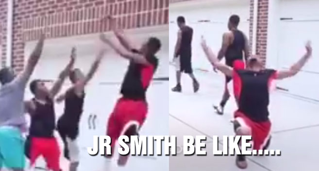 Master NBA Impersonator Finally Does A JR Smith Video