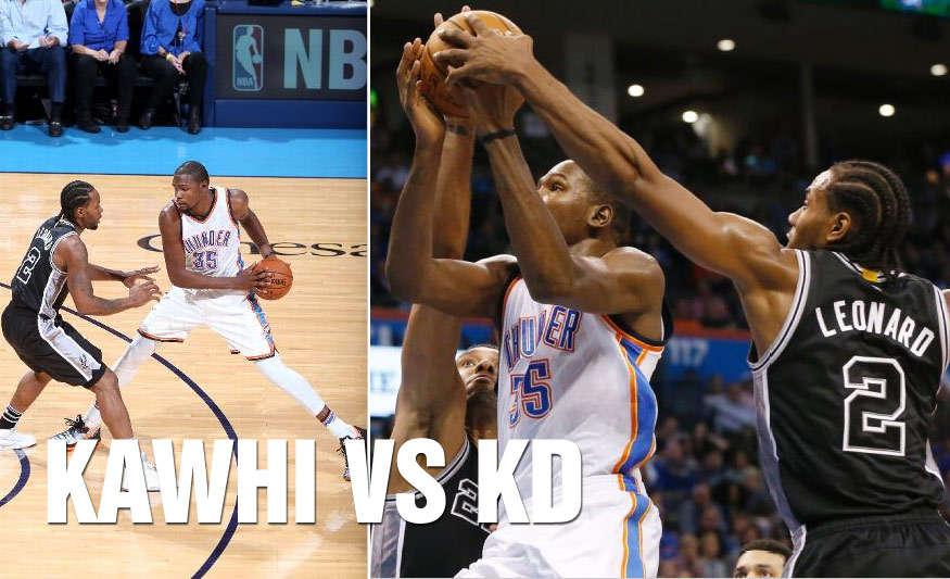 Kawhi Leonard Scores Career-High 32 vs Kevin Durant, OKC Wins