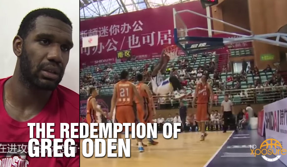 Greg Oden Puts Up 23 & 14 in China Debut, 1st 20 & 10 game in 6 Years!