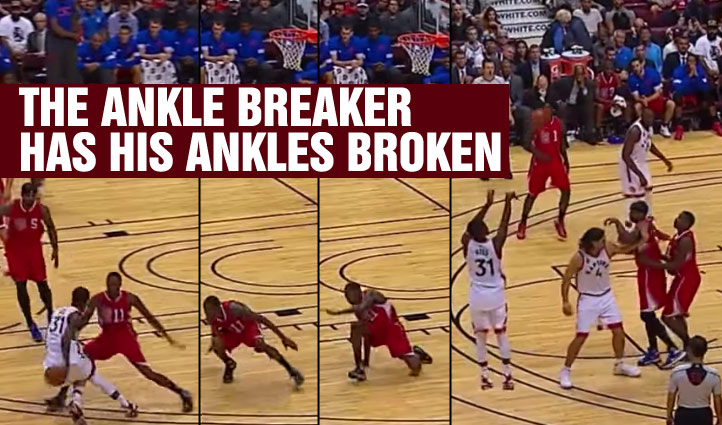 Terrence Ross Breaks Jamal Crawford's Ankles Then Hits A 3!