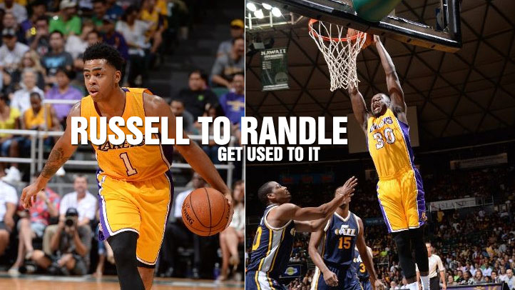 D'Angelo Russell To Julius Randle – Get Used To It