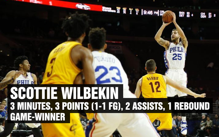 Undrafted Scottie Wilbekin Plays 3 Minutes, Hits Game-Winning 3 vs the Cavs