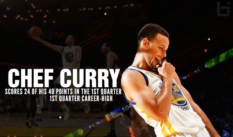 Steph Curry Starts The Season Off With His Biggest 1st Quarter Ever – 24 of His 40 Points
