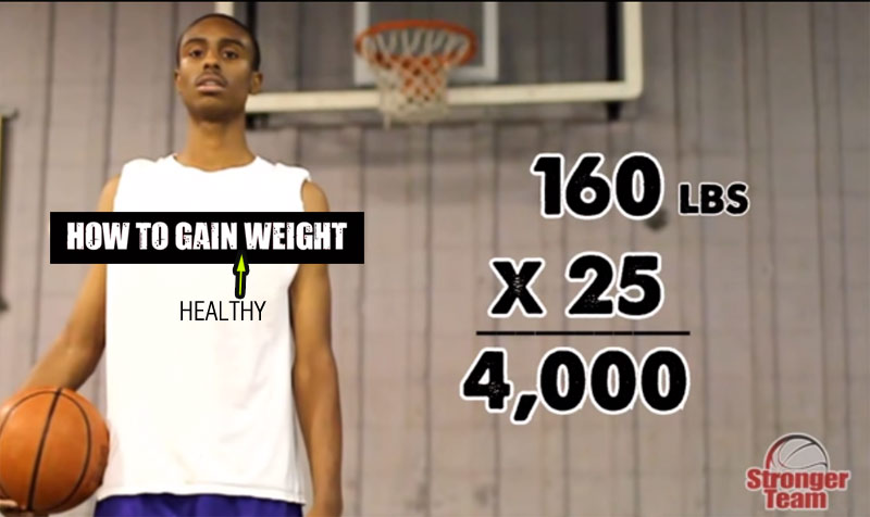 How to Gain Healthy Weight for Basketball