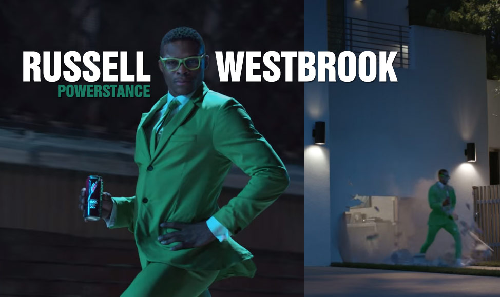 Russell Westbrook Can Powerstance Through Anything, Even Concrete Walls