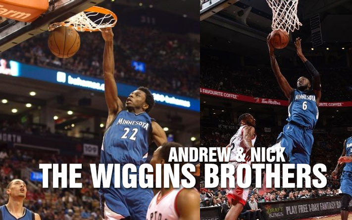 The Wiggins Brothers' Homecoming Game Vs the Raptors