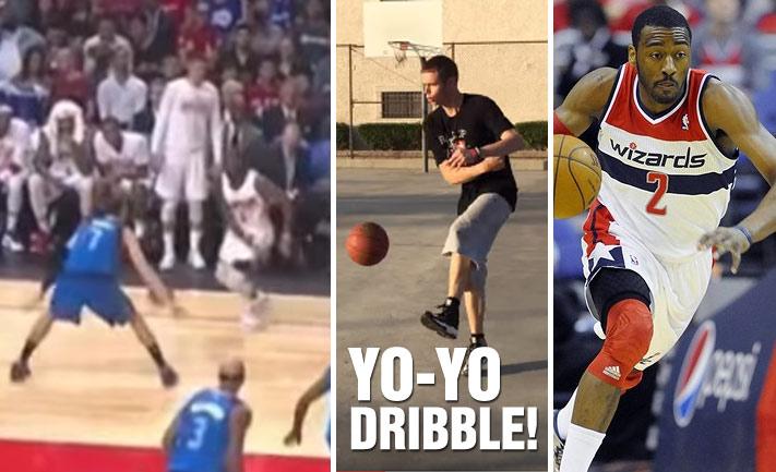 "Chris Paul Does The ""Yo-Yo Dribble"" vs the Mavs, Who Created This Move?"