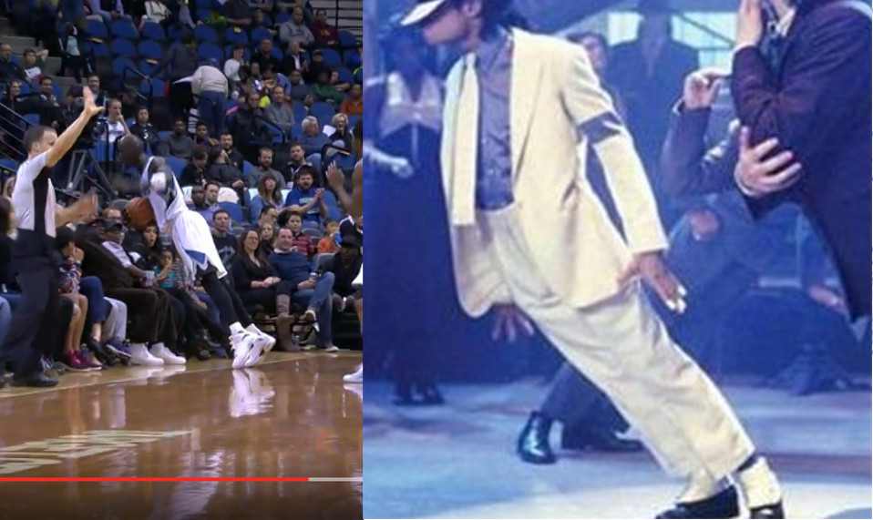 Kevin Garnett Does His Best Impersonation of Michael Jackson