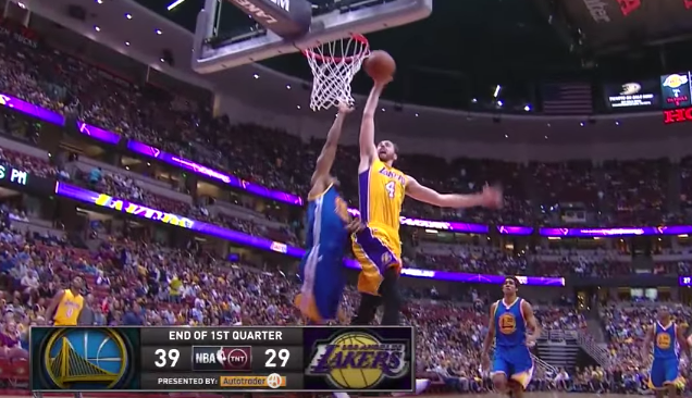 Marcelo Huertas Full Highlights 2015.10.22 vs Warriors   6 Pts  4 Assists  3 Stls.   YouTube