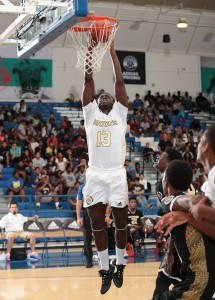 Rawle Alkins's arrival at Word of God Academy (Raleigh, N.C.) catapulted the Holy Rams into the FAB 50 conversation as one of the top independent programs in the country. Photo: Kelly Kline/adidas