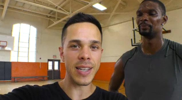 Levi Maestro Spends a Day With Chris Bosh