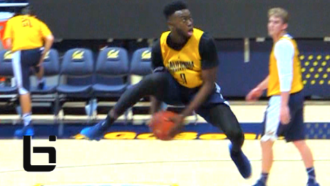 FRESHMAN Jaylen Brown Hits A 360 Between The Legs Dunk At CAL Midnight Madness! Full Highlights