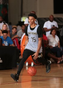 Trevon Duval's arrival at Advanced International Prep (Dallas) has the Bulldogs thinking it has a realistic shot at winning Dick's Nationals. Photo: Kelly Kline/adidas