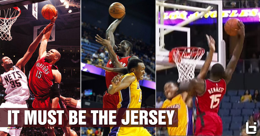 Raptor's Anthony Bennett Posterizes Robert Upshaw, It Must Be The Vince Carter Jersey