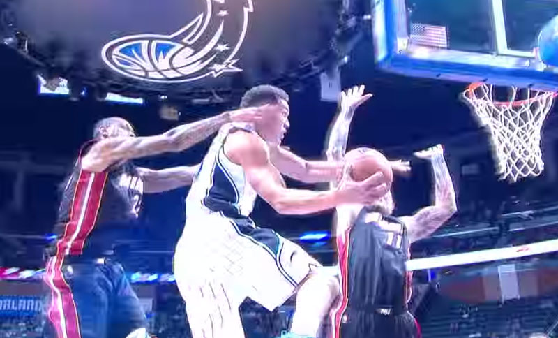 Aaron Gordon Does His Best Dr J Impersonation