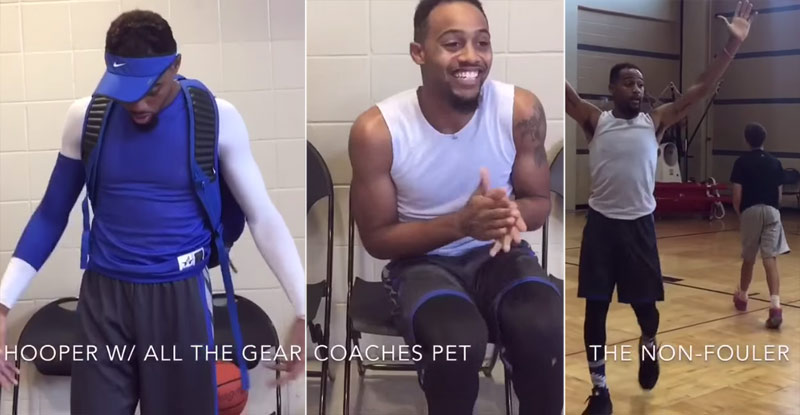 Master NBA Impersonator Does Every Type of Basketball Player You Know