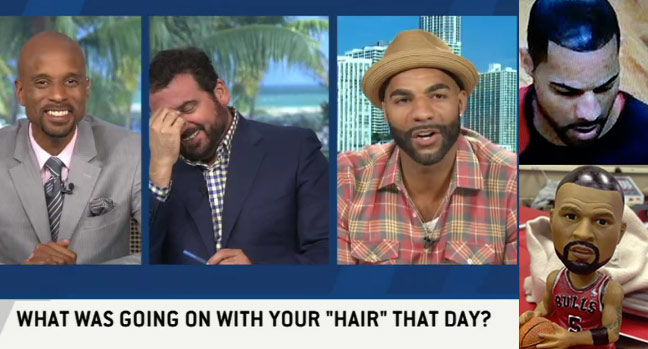Carlos Boozer Finally Explains His Shoe Polish Hair From 2012