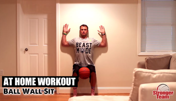At Home Workouts for Basketball | Stronger Team
