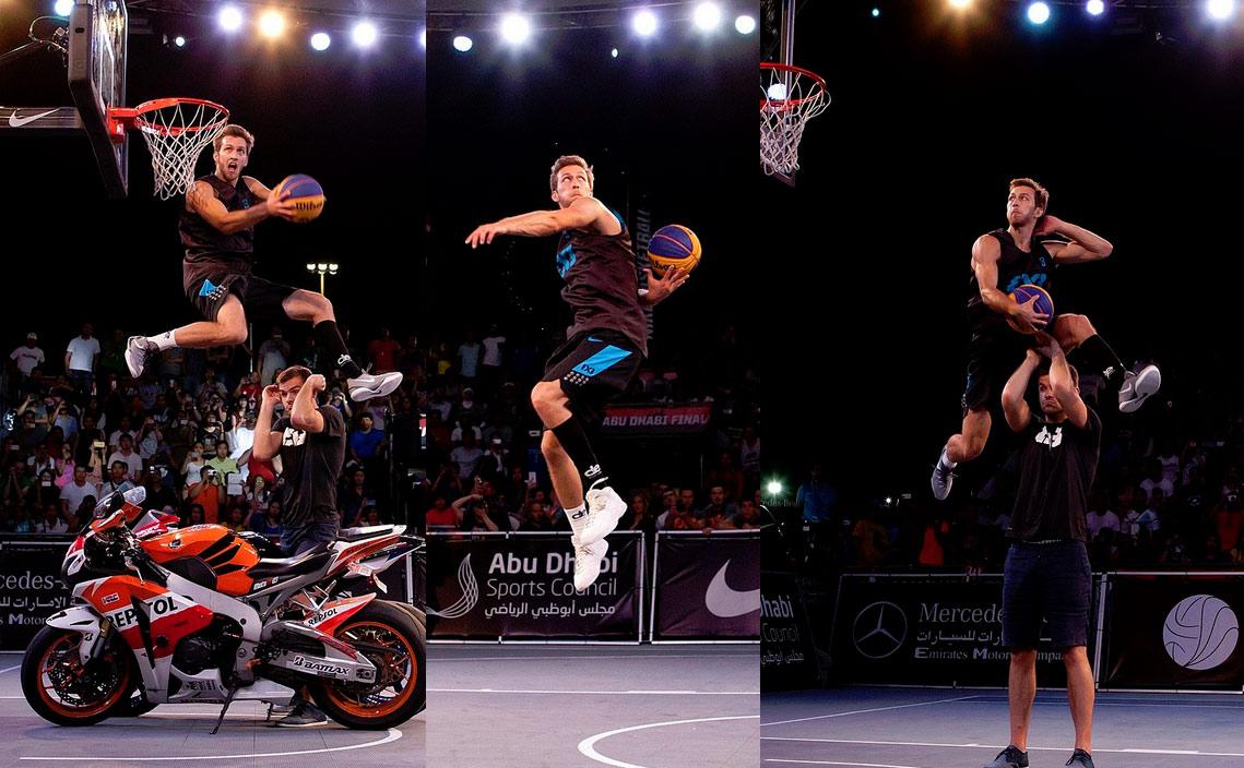Lipek Beats YouTube Dunk Sensation Jordan Kilganon at FIBA 3×3 Dunk Contest - Ballislife.com