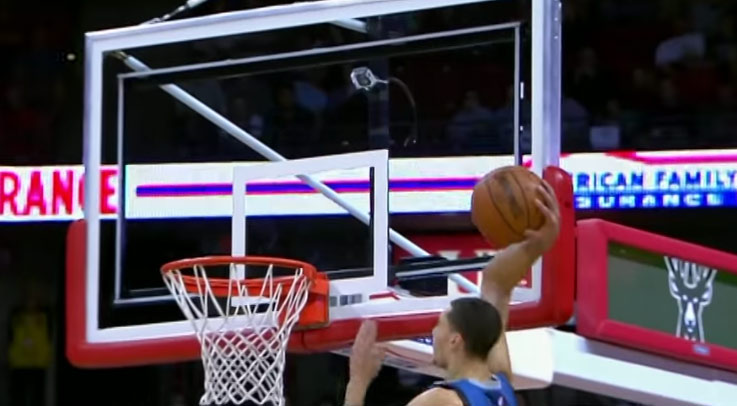 Dieng's Block on Vasquez Leads To A 1 Hand Alley Oop Dunk By Zach LaVine