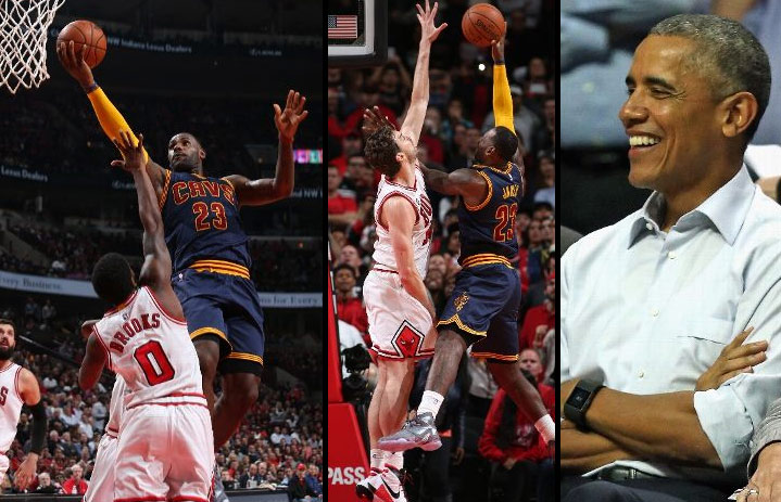 LeBron Scores 25 Vs the Bulls, Has Final Shot Rejected By Pau Gasol