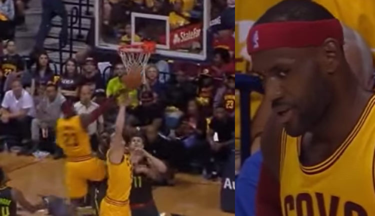 Mozgov Messes Up A Crazy Alley-Oop Between JR Smith & LeBron