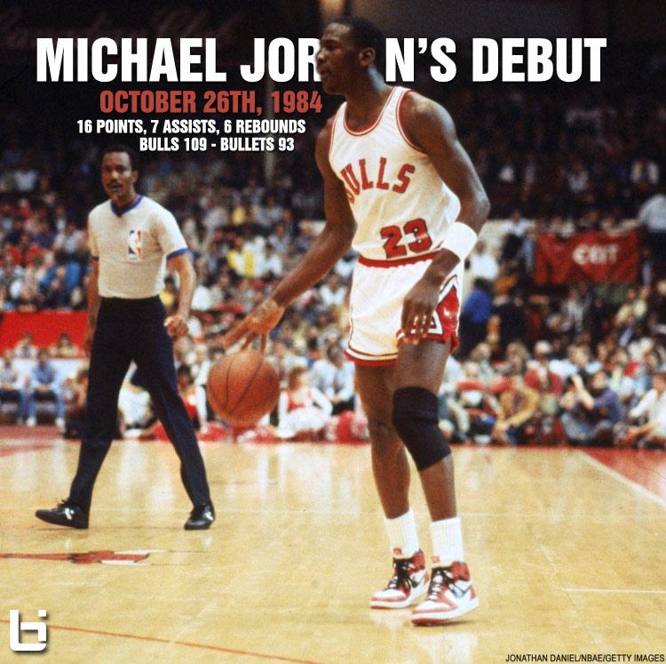 (1984) Michael Jordan's Scary NBA Debut