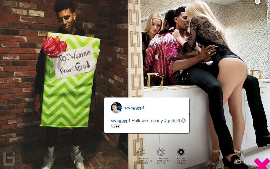 "Nick Young Was ""God's Gift To Women"" At A Halloween Party"
