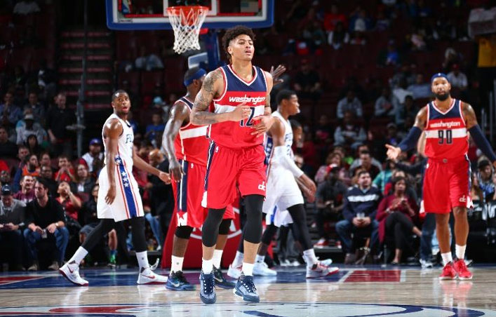 Kelly Oubre Scores Preseason High 16 points vs the 76ers