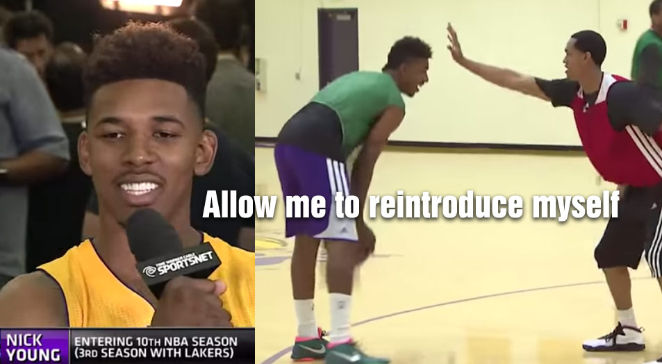 """Nick Young Getting Rave Reviews in Camp, Teammates Say """"He's All Business"""""""