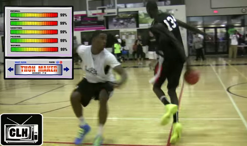 7'1 HS Senior Thon Maker Is A Point Guard Stuck In A Center's Body