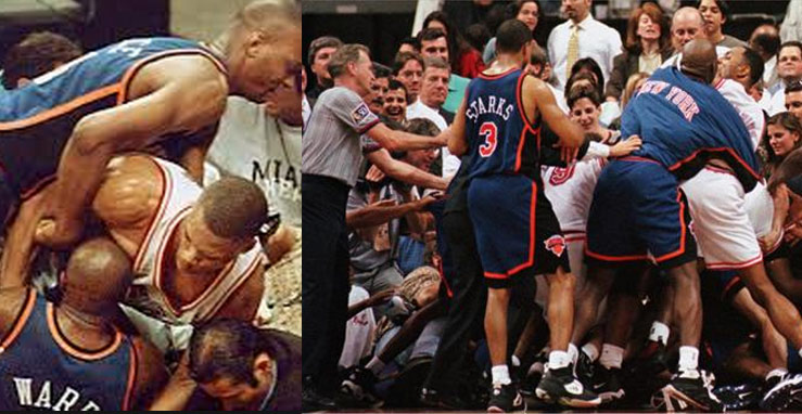 Remembering Charlie Ward & the 1997 Brawl Between the Knicks & Heat