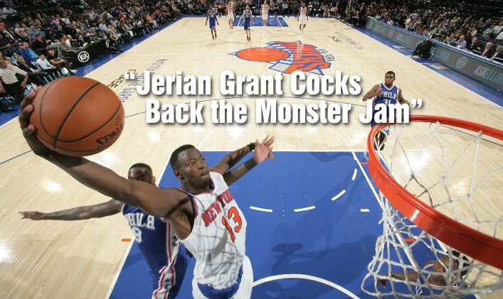 The Return of NBA YouTube Porn Titles Starring Jerian Grant's Monster Dunk