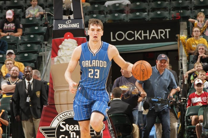 Clutch! Rookie Mario Hezonja Scores 11 of his 13 Points in the 4th Quarter of Magic Comeback vs Rockets