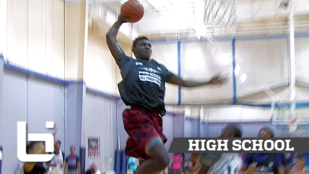 LaDarius Marshall, Franklin Aguananne, Charles Bassey Show Out at Pangos All-South Frosh/Soph Camp